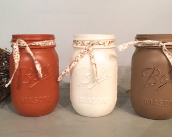 fall centerpiece, fall mason jars, mantle decor, Thanksgiving decor, wood table box, mason jar decor, farmhouse, reclaimed wood, give thanks