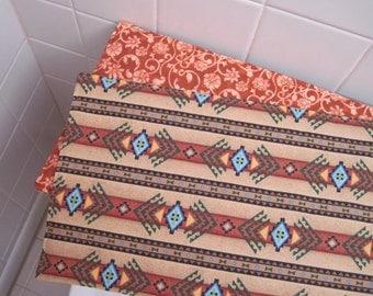 Southwest Toilet Tank Runner Brown Toilet Tank Topper Aztec Toilet Tank Runner Sedona Toilet Tank Cover Turquoise Toilet Tank Runner