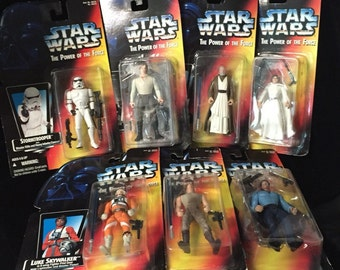 Star Wars Power of the Force Action Figures