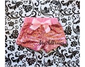 SALE Pink sequin shorts , Baby Girls pink Sparkle Sequin SHORTS-  girls birthday outfit- girls sequin shorts-toddler shorts- toddler sequin