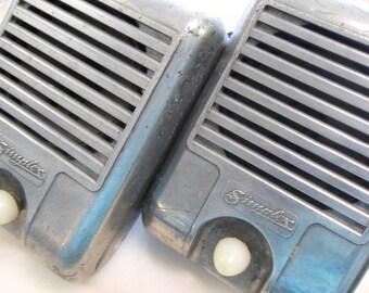 Vintage Simplex Drive In Movie Speakers One Pair