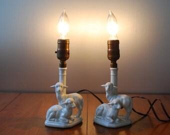 Lamb Lamp Etsy
