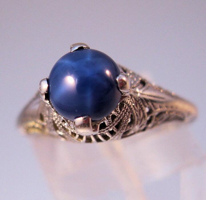 genuine star sapphire ring - photo #39