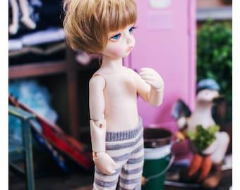 Yo-SD horizontal line leggings - Gray