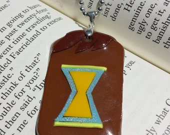 My Little Pony Inspired Doctor Whooves Pendant