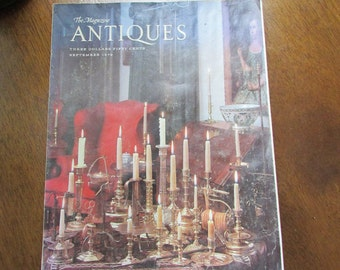The Magazine Antiques - September 1979 Issue  - Original Copy – Vintage Collectible Magazine