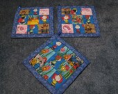 Peanuts Characters Kitchen Potholder Set