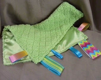Ribbon Cuddle Blanket