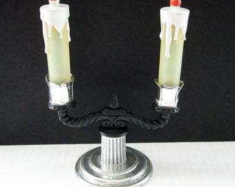 Candelabra Salt and Pepper Shaker Set