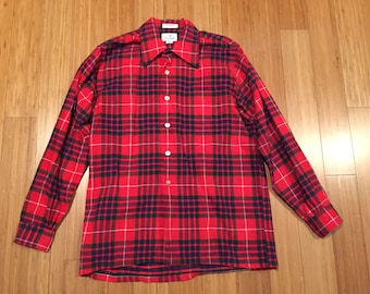 ON SALE* Donegal Vintage Plaid Button Up Shirt Size 34