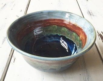 Ceramic Serving Bowl, Pottery Serving Bowl, Ceramic Fruit Bowl, Ceramic Bowl