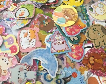 50 pieces Kawaii stationary (stickers + memo sheets)