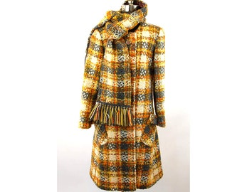 1960s tweed coat