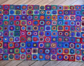 Alpacalicious Crochet Rug - PDF Pattern