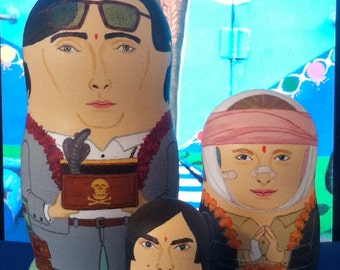 Darjeeling Limited Matryoshka Dolls