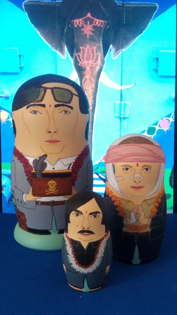 Darjeeling Limited Matryoshka Dolls
