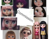 Ooak custom blythe by cocochoo, commission