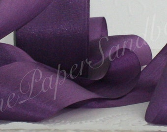Purple Bridal Sash Etsy