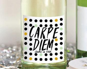 Carpe Diem Cancer WIne Label