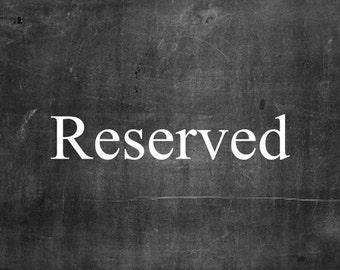 Reserved for  lizlin99