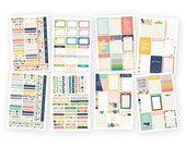 "Planner Weekly Basics Stickers Posh Stickers 4""X6"" 8/Pkg • Planner Stickers (4973)"