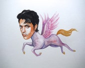 Prince the purple pegasus