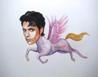 Prince the purple pegasus