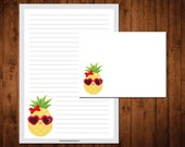 Letter Writing Stationery Set - cool as a pineapple