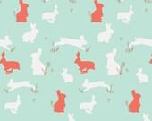 Bunny Binkies in Funk Metalic Fabric from Art Gallery