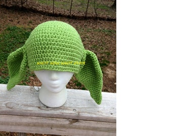 Yoda Star Wars Cosplay Beanie Hat