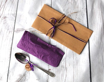 Gift wrapping for your Goozeberry Hill Cutlery & Flatware - Perfect as a gift wrapping solution