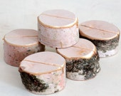 50 Birch Branch Stump Place Card Holders for Weddings Special Event