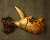Fishing gifts carved fish sculpture wood carving Gift Fisherman