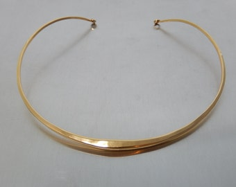 Ronald Hayes Pearson 14k Necklace Hand Forged Modern