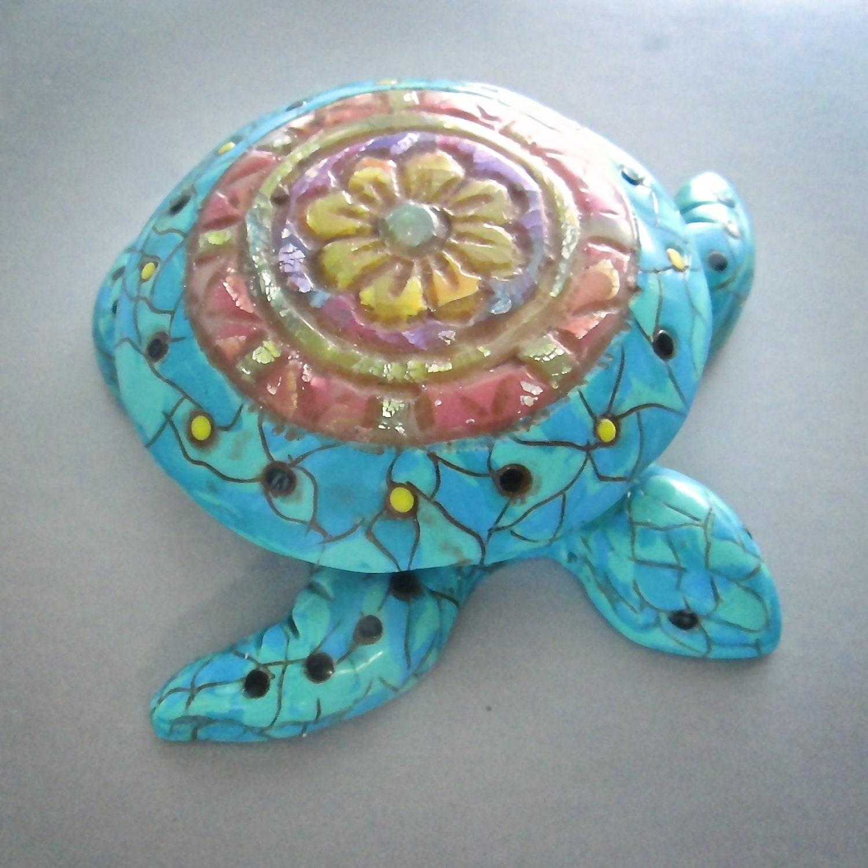 Sea Turtle Bathroom Accessories Turtle Mandala Etsy