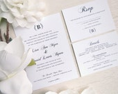 Final Payment for Lauren PRINTED Wedding Invitation Suite - Style INV31 -