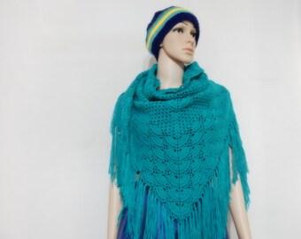Crochet Deep Green color