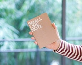 Sale -Lined notebook -small size