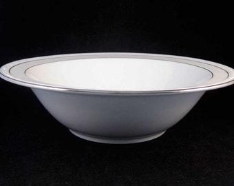"""Noritake Stoneleigh Round Vegetable Serving Bowl 9-3/4"""" Pattern #4062"""