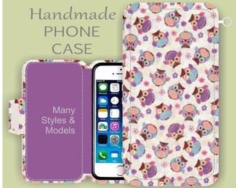 Purple Owl iPhone Case iPhone 6S Plus iPhone 6 S3 iPhone 6  Samsung Galaxy S5 Samsung Galaxy S6
