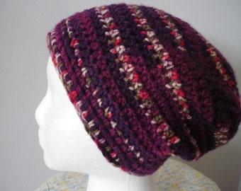 Crocheted Slouchy Beanie Women