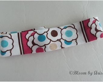 Floral print stretchy headband