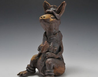 Pensive Soldier Rabbit