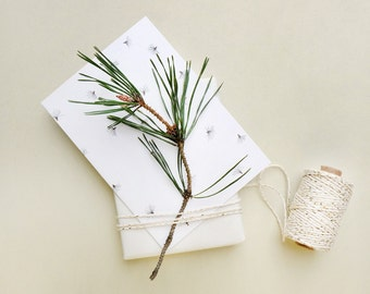 Season's Greeting Card »Larch« | Botanical Cards | Greeting Card | STUDIO KARAMELO
