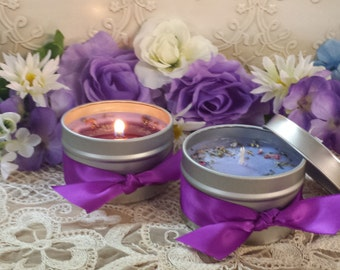 Psychic Awareness Intention Candles, Divination Candles, Meditation Candle