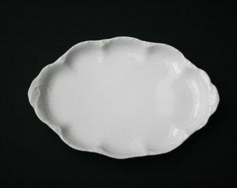 antique rosenthal white porcelain platter versailles