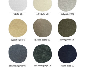 Color Card / Jersey Fabric / Colors / Color Variations / marcellamoda - MA1000