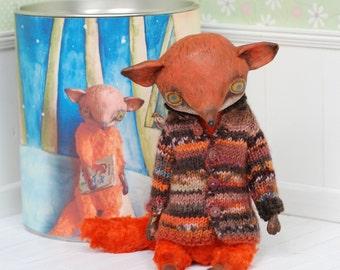 Garage Sale: Foxy made by Svetlana Krivenko Art Doll OOAK