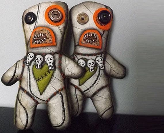 Voodoo Doll Horror Art Doll Scary Plush Monster Doll