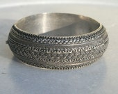 Vintage Bedouin Silver Bracelet